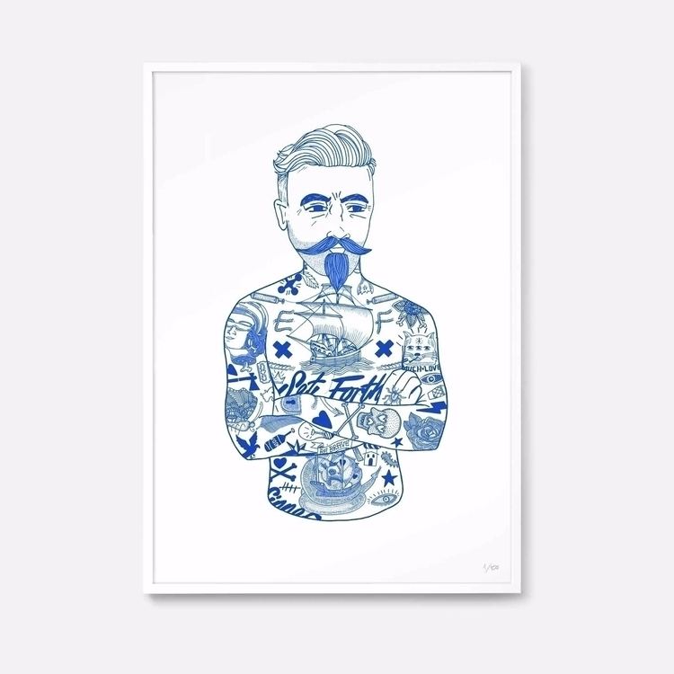 TAT PEOPLE MEET Series prints:  - madebyfolk | ello