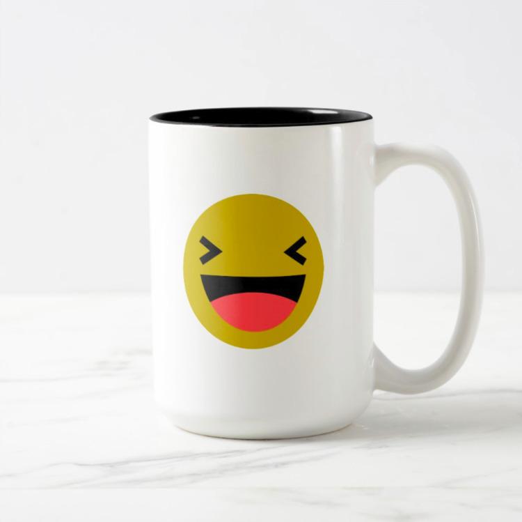 Bloughing / Black 444 ml - Mug - petro5va5iadi5 | ello