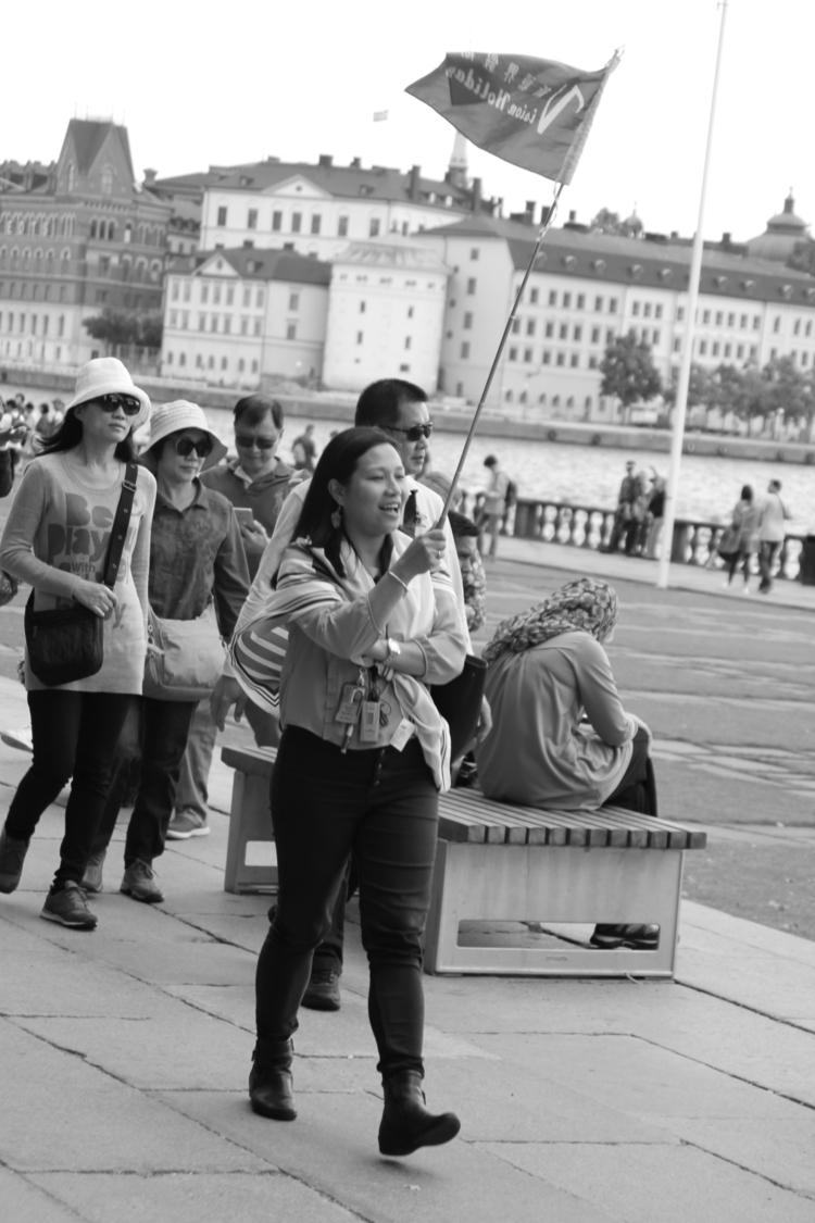 II - tourists, sweden - annamigchels | ello