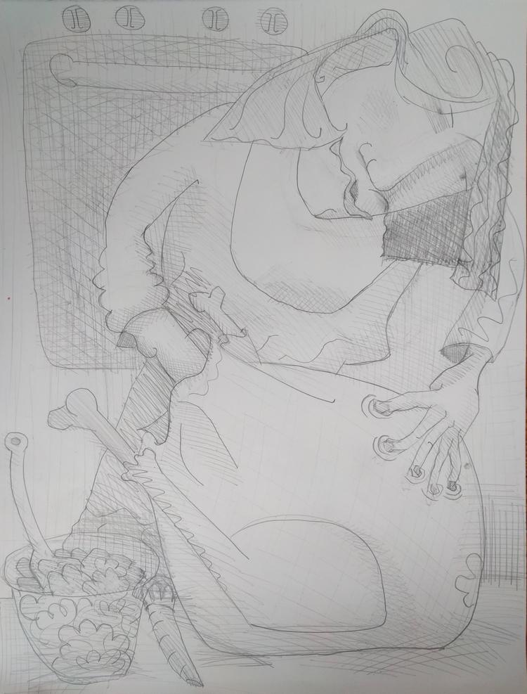 Bird Stuffer graphite paper, 26 - markbarry | ello