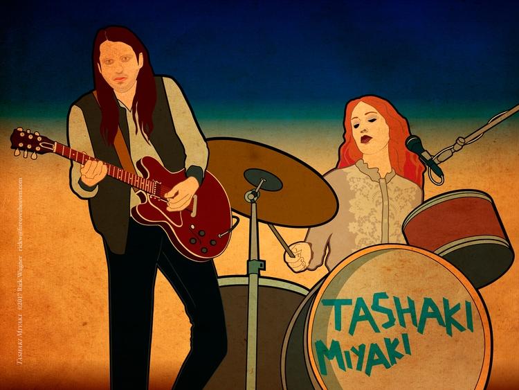 favorite band, Tashaki Miyaki.  - rickwagner | ello