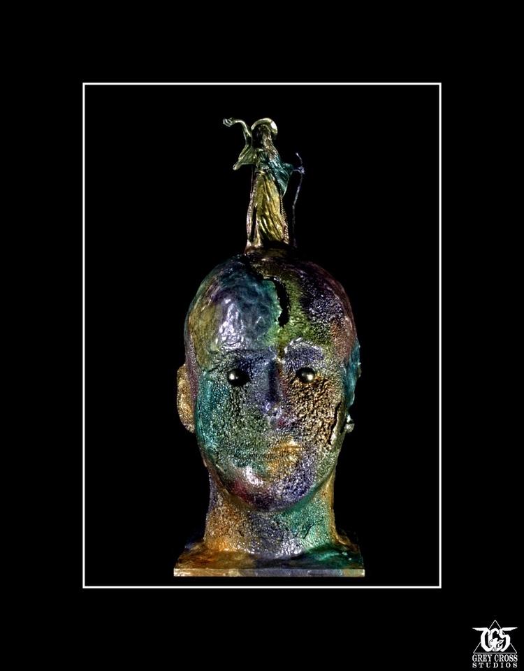 Soul Wizard sculpture Grey Cros - greycrossstudios | ello