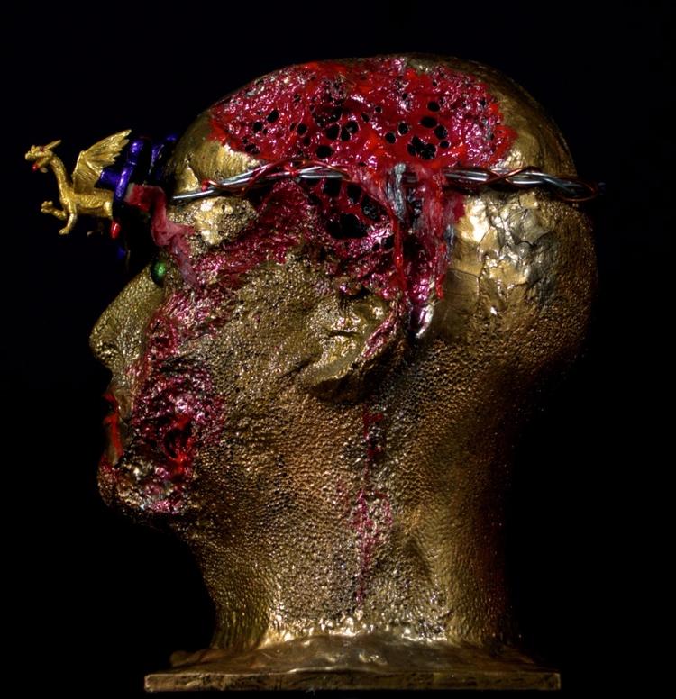 Draco Warrior Rome sculpture Gr - greycrossstudios | ello