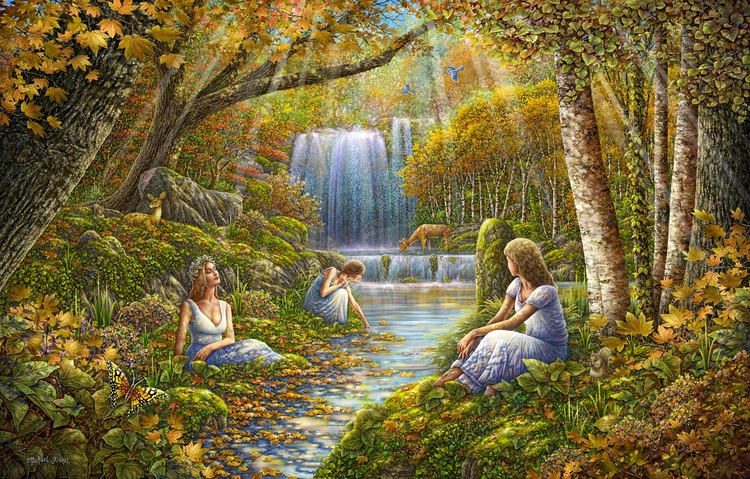 painting Autumn Rendezvous 2015 - michaelfishel | ello