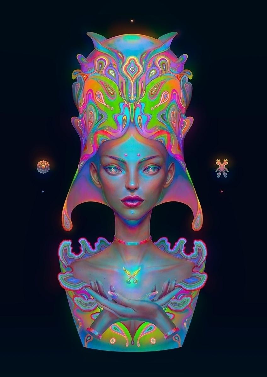 PRISMOIDEA artwork collaboratio - krizpi | ello