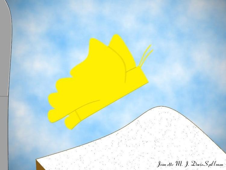 piece titled Butter-Fly paronom - jeanettemjdavis-spillman | ello