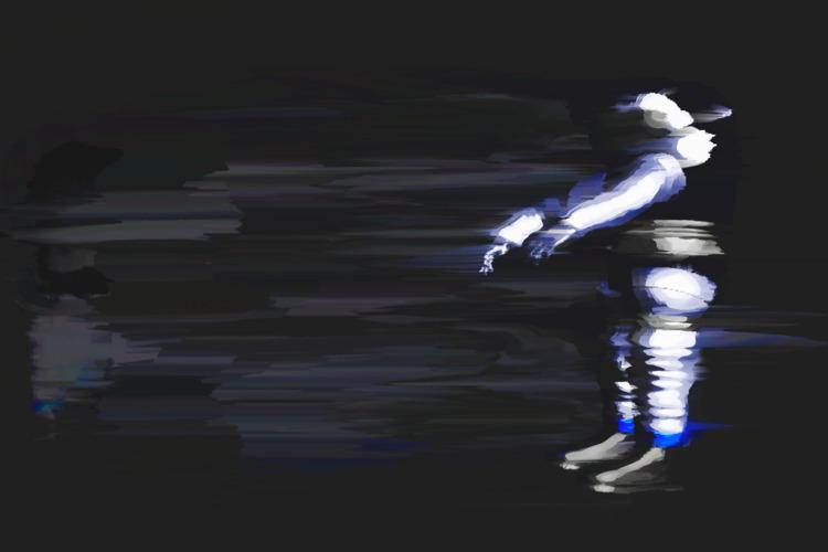 astronaut, space, pixelsort, pixelsorting - jazer   ello