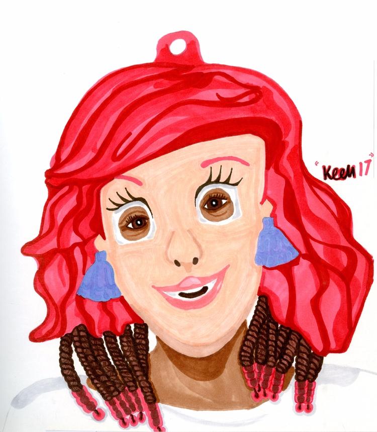 Princess Ariel(2017 - inktober, inktober2017 - ccmicheau | ello