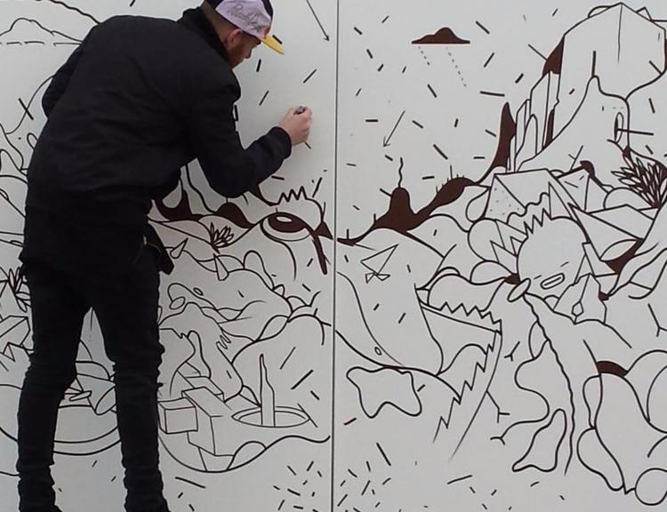 Drawing Harvard Scince Square - ReepsOne - reepsone | ello