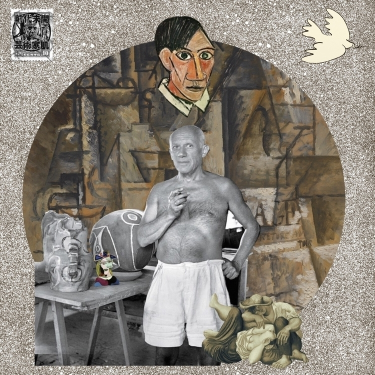 Happy birthday, Picasso - collageart - arbel420aka | ello