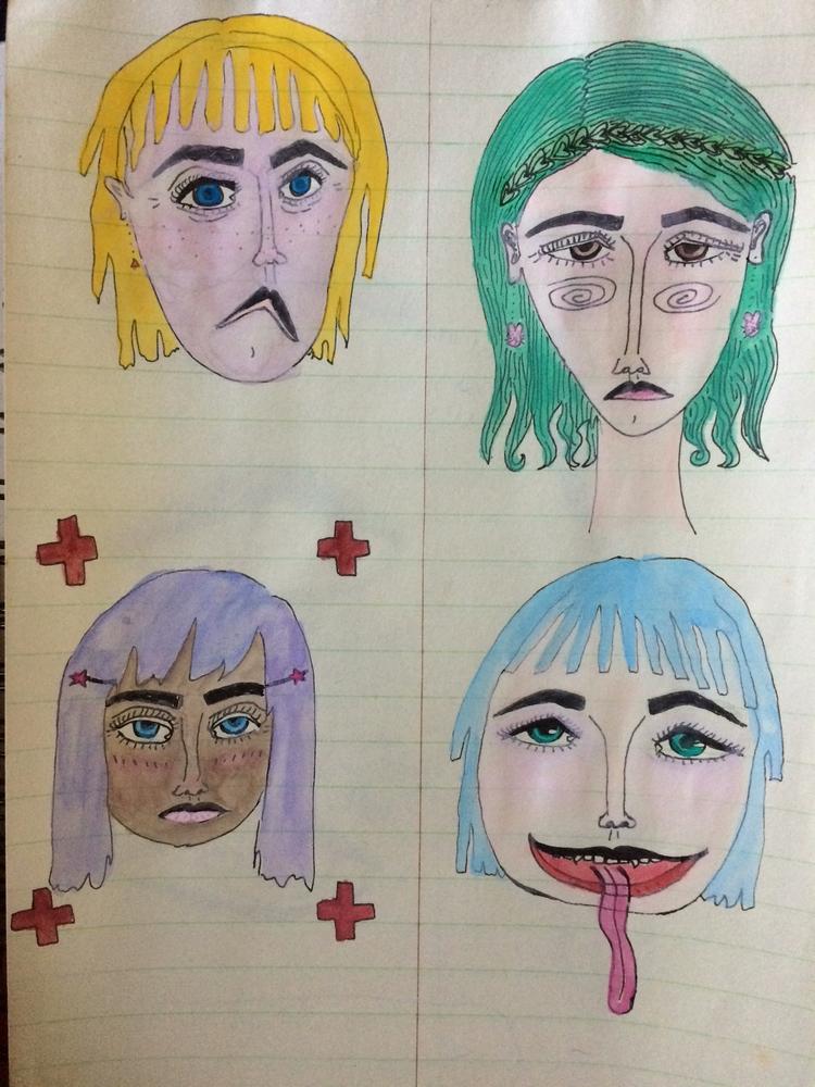 sum drawings - sadwasp | ello