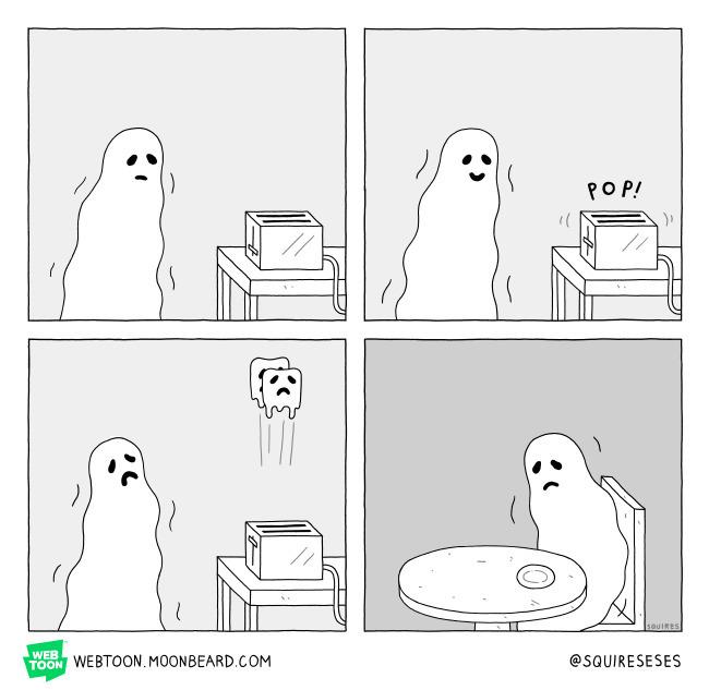 GOAST Webtoon // Moonbeard.com  - squireseses | ello