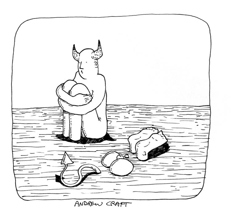 illustration, devil - acraftillo | ello