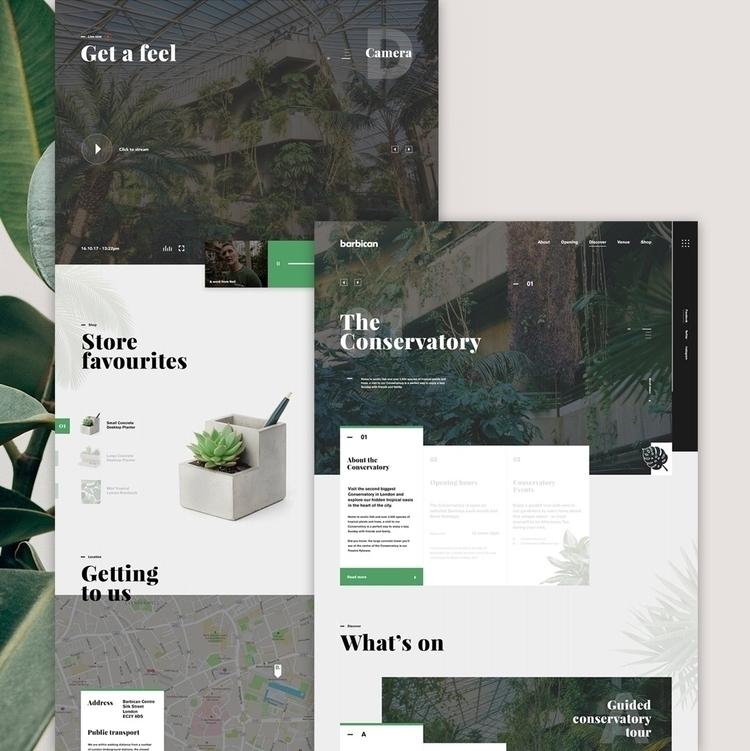 Barbican Conservatory | Concept - mynrd | ello