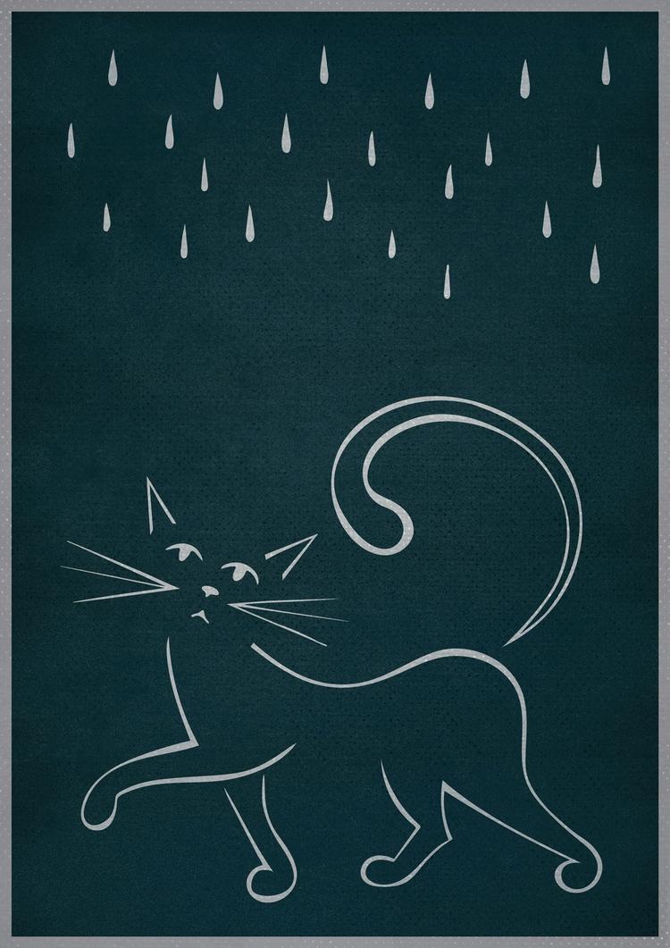 Cat Rain - johnjgriffiths | ello