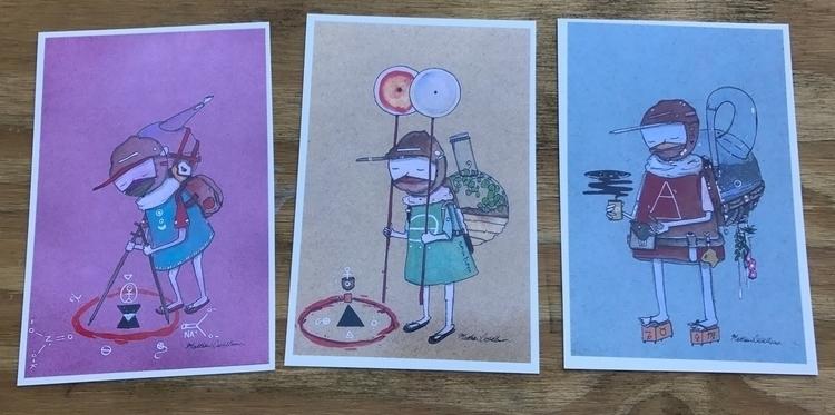 TRIA PRIMA 3 print set tomorrow - matthew_castellano | ello