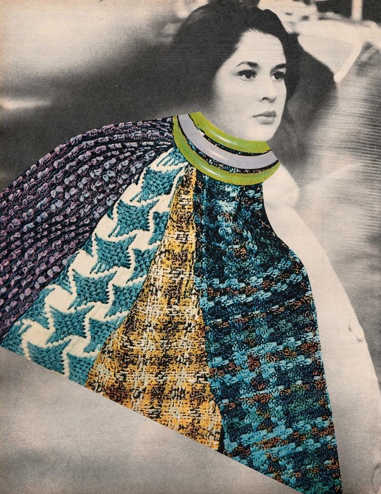 Coutume - 26x33,7 cm Paper coll - claire_martine_   ello