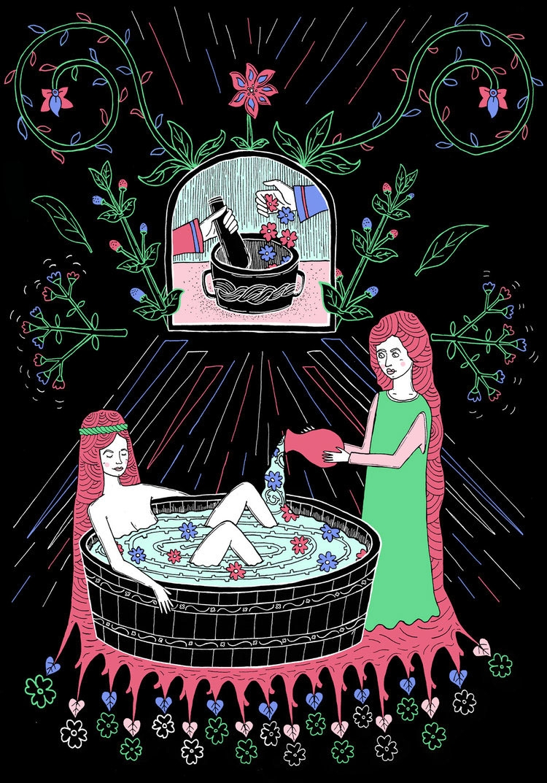 illustrations pitched Lush Cosm - tony_jayco | ello