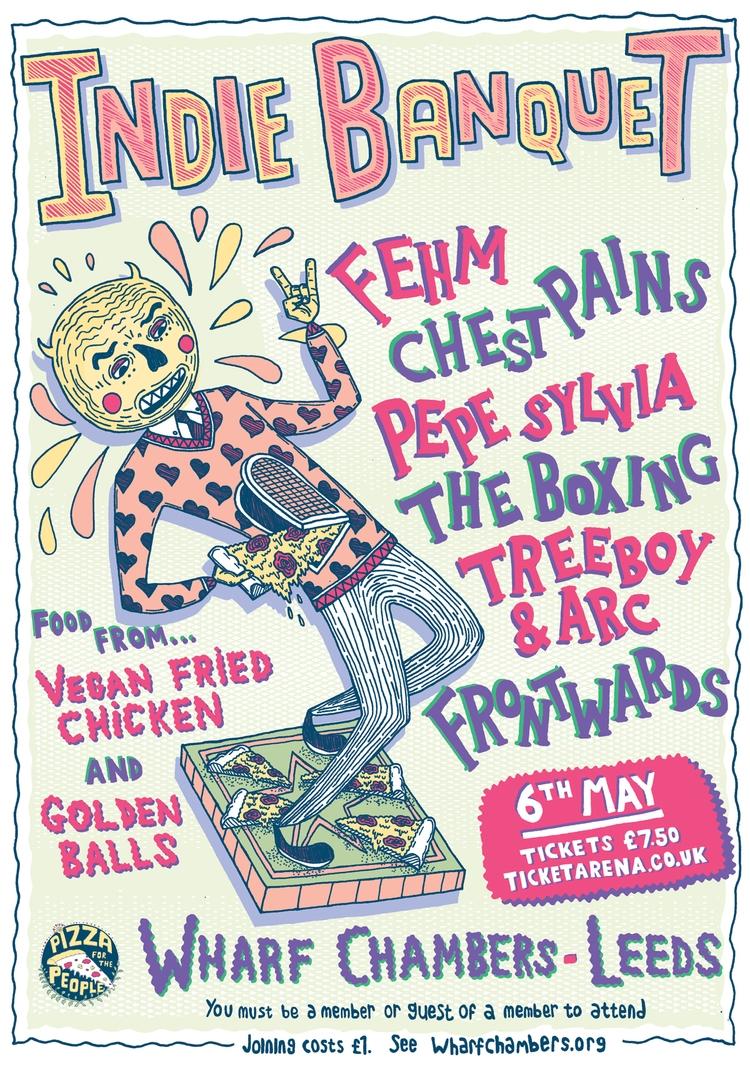 Gig Poster: Pizza People presen - tony_jayco | ello