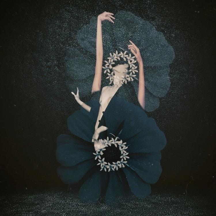 ~~ chrysalis~~  - surreal, selfportrait - chemikobleu | ello