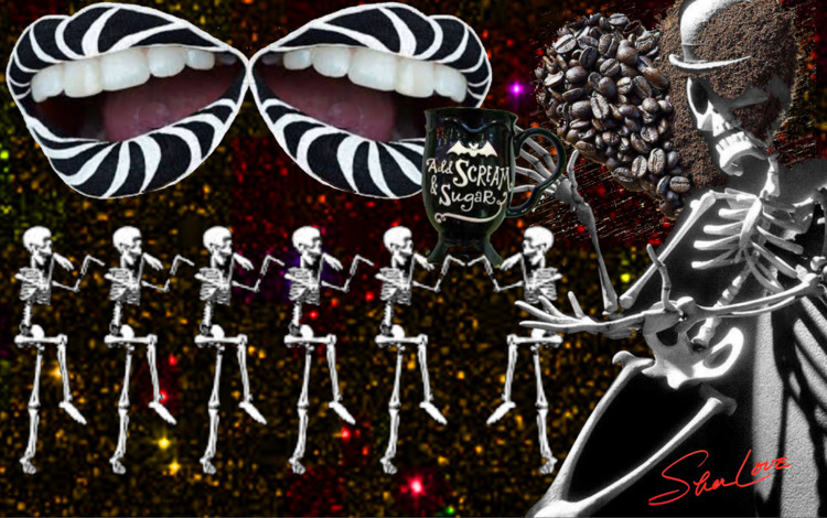 Jazz Coffee Spooks ~ Sher Love  - sherlove | ello
