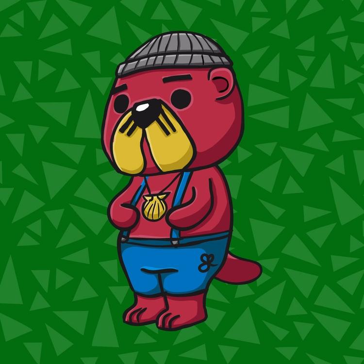 Pascal / Animal Crossing - Illustration - kumavilla | ello
