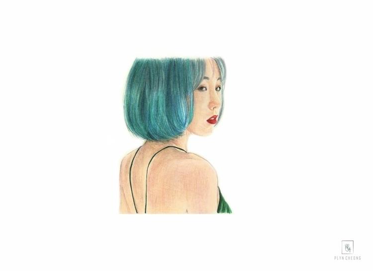 Taeyeon, snsd, practice, portrait - plyncheong   ello