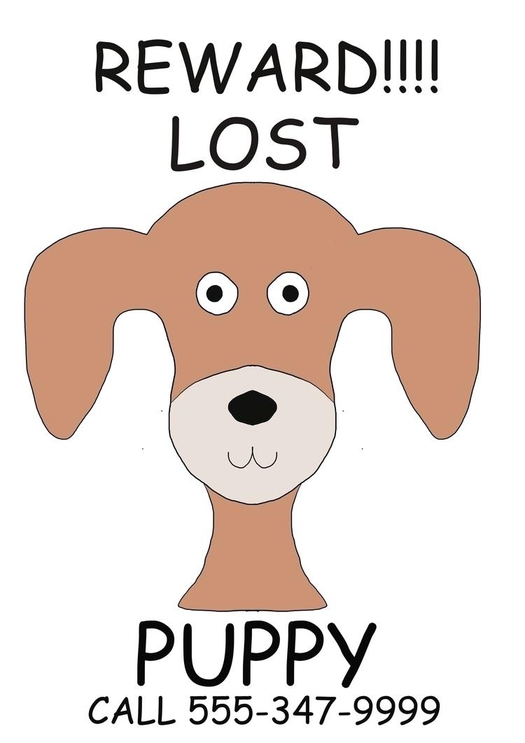 Lost Puppy Halloween Poster wei - idgafwtf | ello