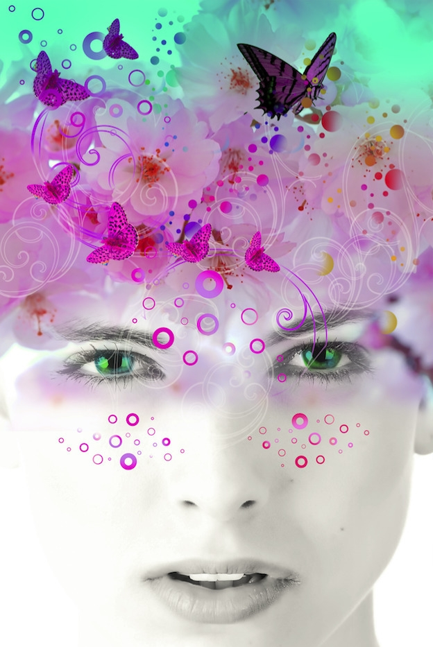 work Title Beauty Blooms - photoshop, - lobber66   ello