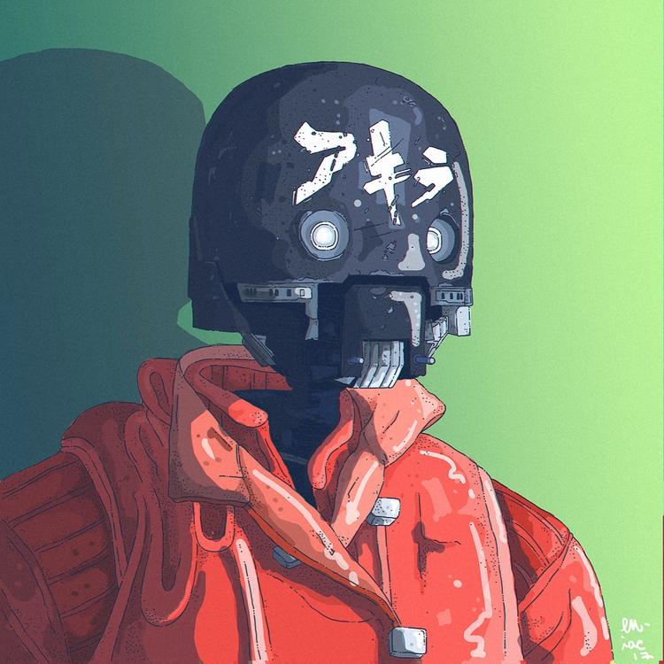 Kaneda droid - starwars, akira, eniac - artereniac | ello