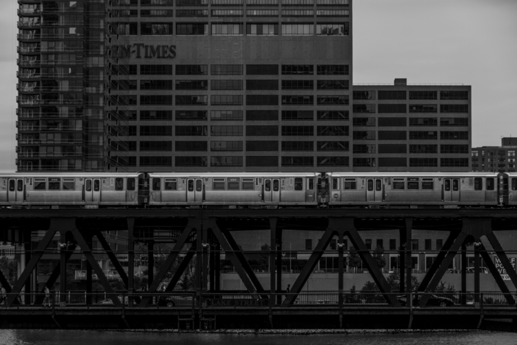 Chicago photograph Wacker Drive - vincentwinther | ello