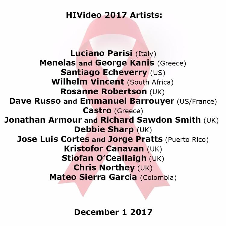 ***HIVIDEO 2017: ARTISTS*** HIV - johnhopper | ello