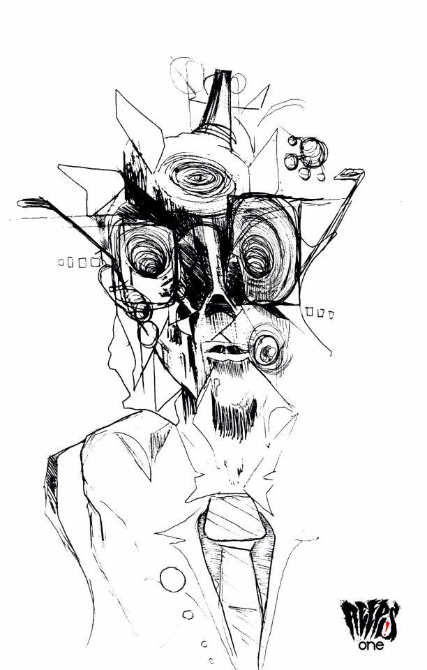 'Tie Man' - Pen Ink style exper - reepsone | ello