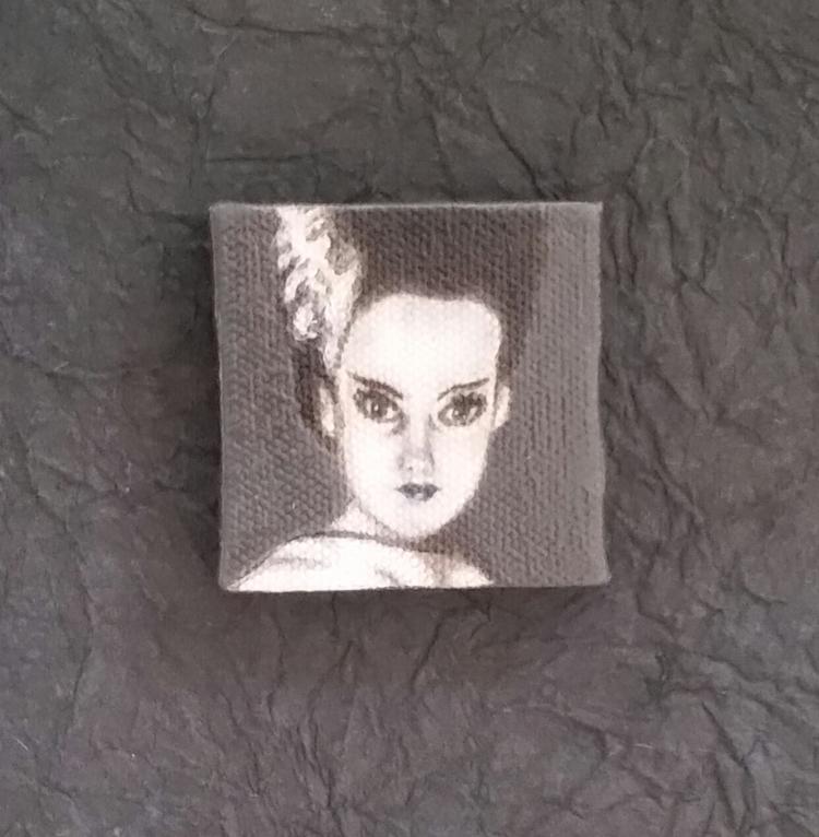 Miniature painting Bride Elsa L - nora_ | ello