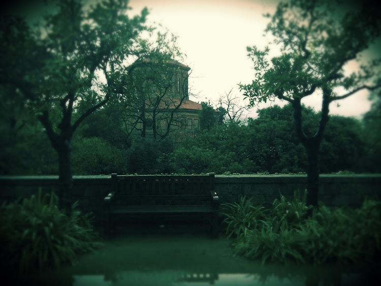 rain, montjuic, bcn - this_game_has_no_name | ello