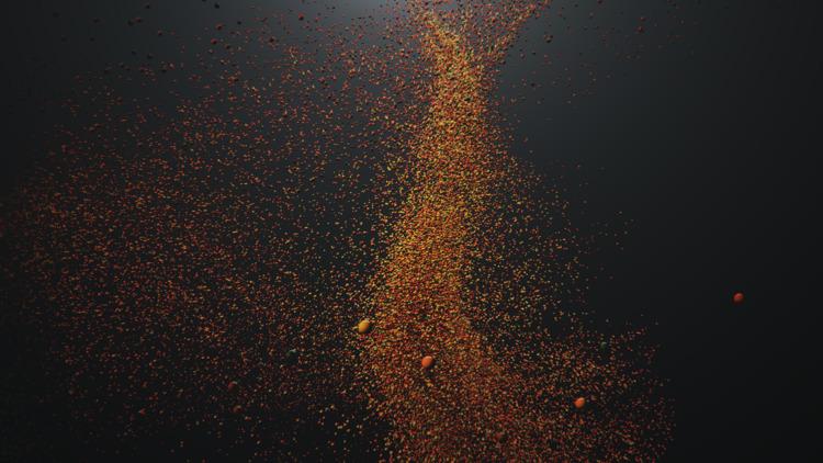 particles - alemotion | ello