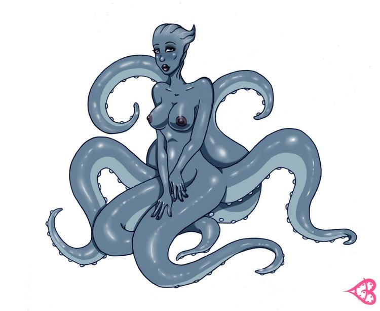 2015 request octomaid Liara - art - lewdatic | ello