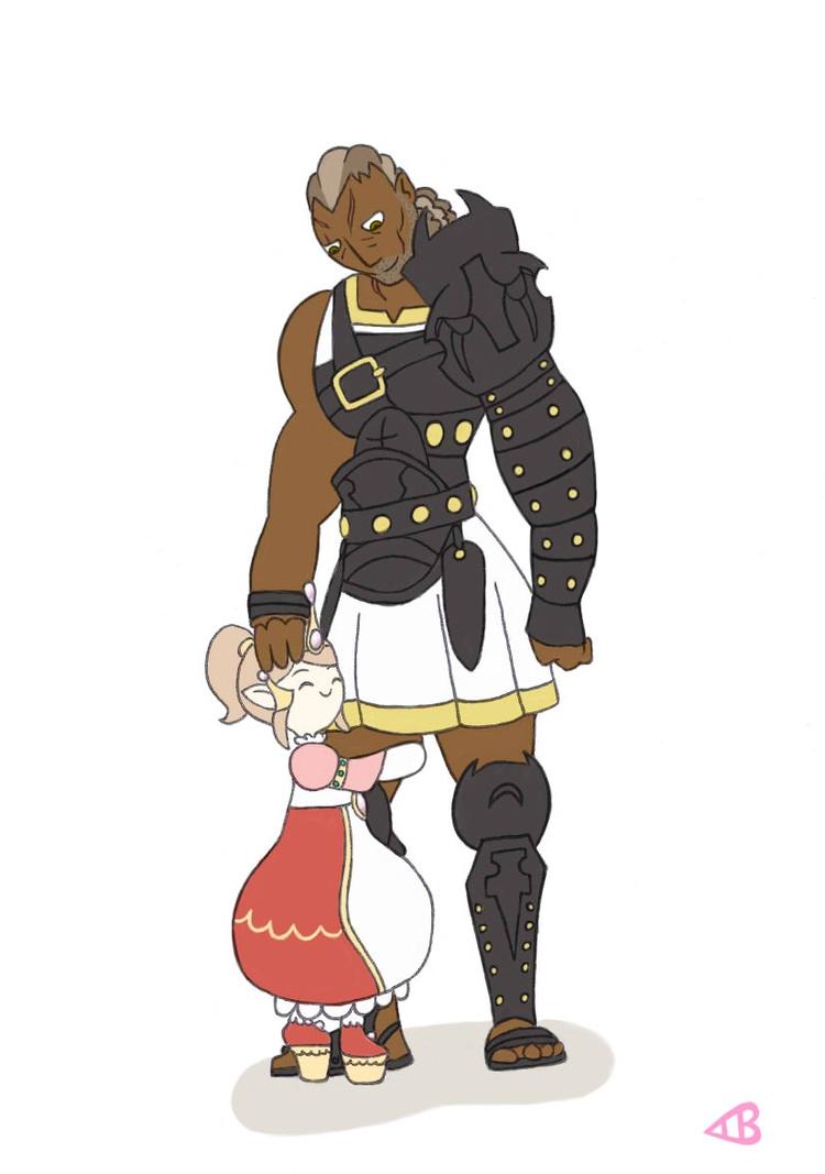 commission 2015 Final Fantasy N - lewdatic   ello