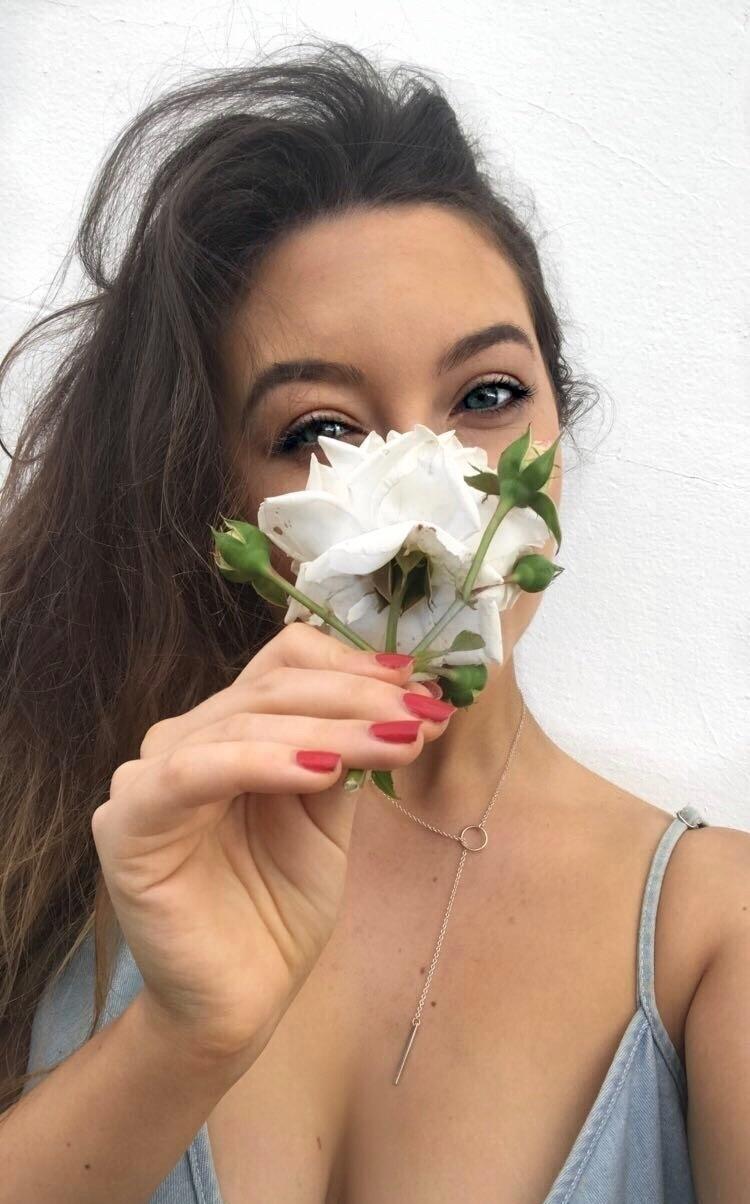 Ello, ellonew, girl, flower, art - tillashi | ello