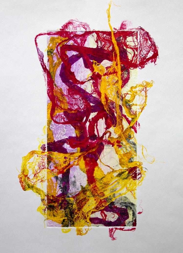printmaking, print, abstract - elekz | ello
