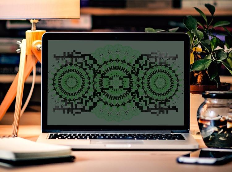 Animated Screenie ( Click Play  - artlikesyou | ello