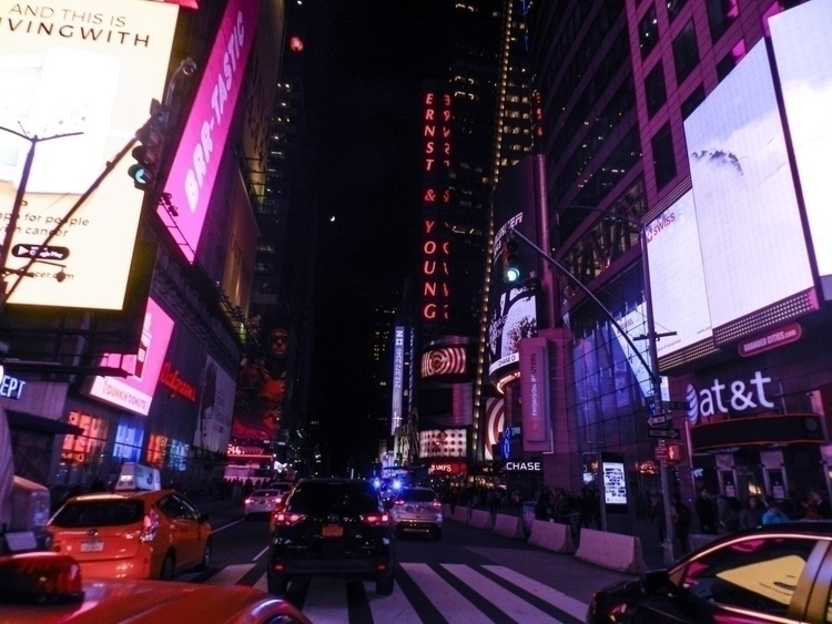 nyc, MBE, yellow, lights, timesquare - boymbe | ello