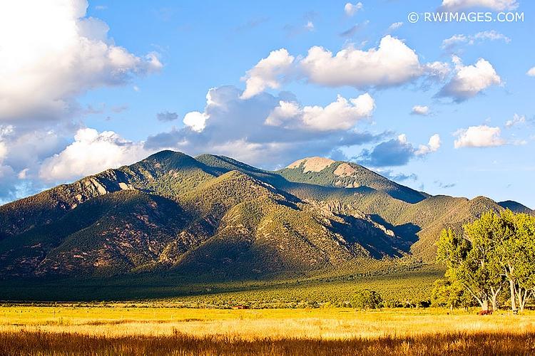 TAOS MOUNTAIN MEXICO LANDSCAPE  - rwi | ello