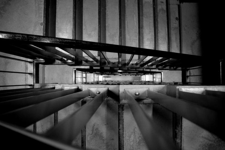 Deep - blackandwhite, stairs, perspective - glauke_w_ | ello