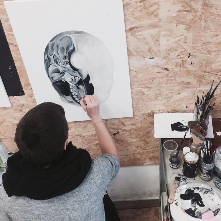 Studio Day  - studio, studiolife - fede_poletti | ello