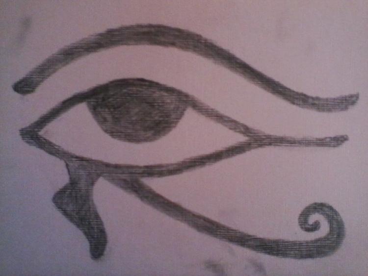 Eye Horus (protective talisman - williamrobertway   ello