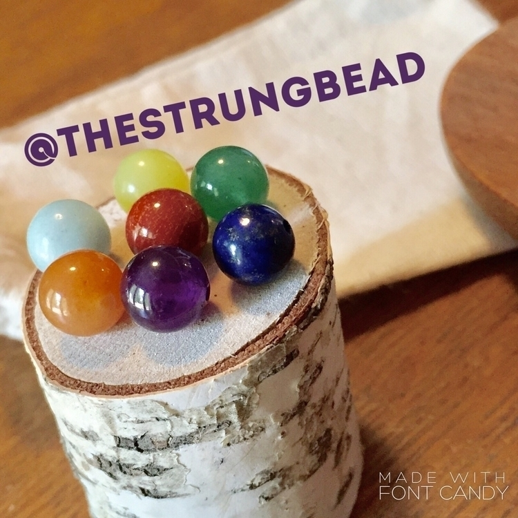 Colorful Grounding ~ Chakra Rai - thestrungbead | ello