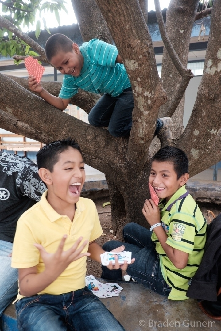 boys playing hospital courtyard - bradengunem | ello