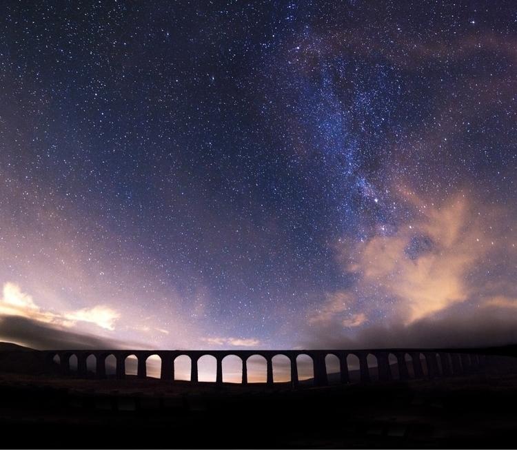 Ribblehead Viaduct night sky - jamesallinson | ello