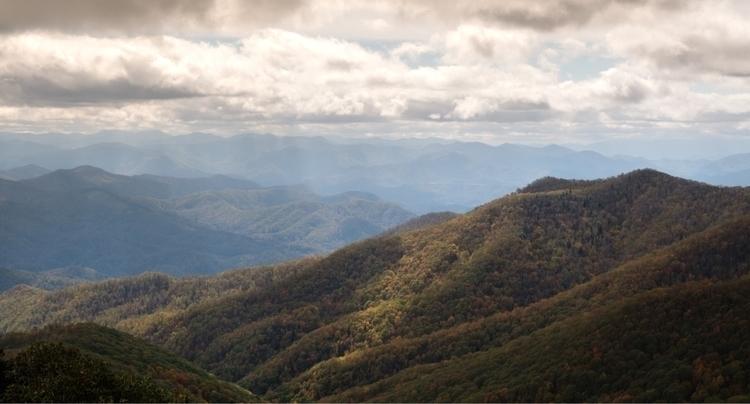 Beautiful Blue Ridge Mountains  - theturrible | ello